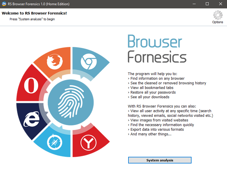 RS Browser Forensics